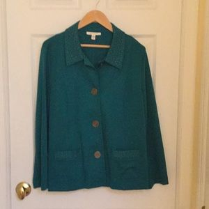 Teal JM Jacket